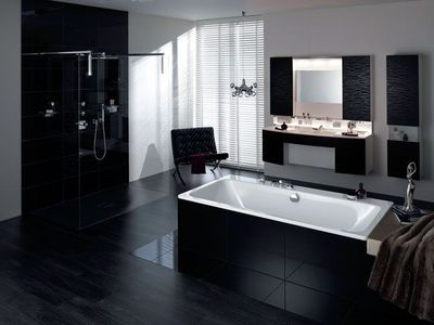 Douche italienne moderne