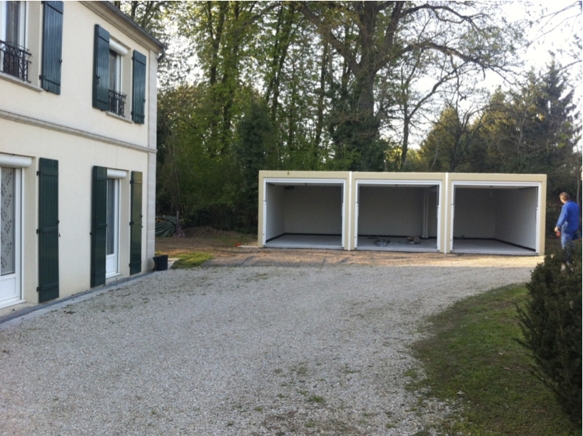 Les informations sur la construction d 39 un garage - Comment faire une descente de garage en beton ...